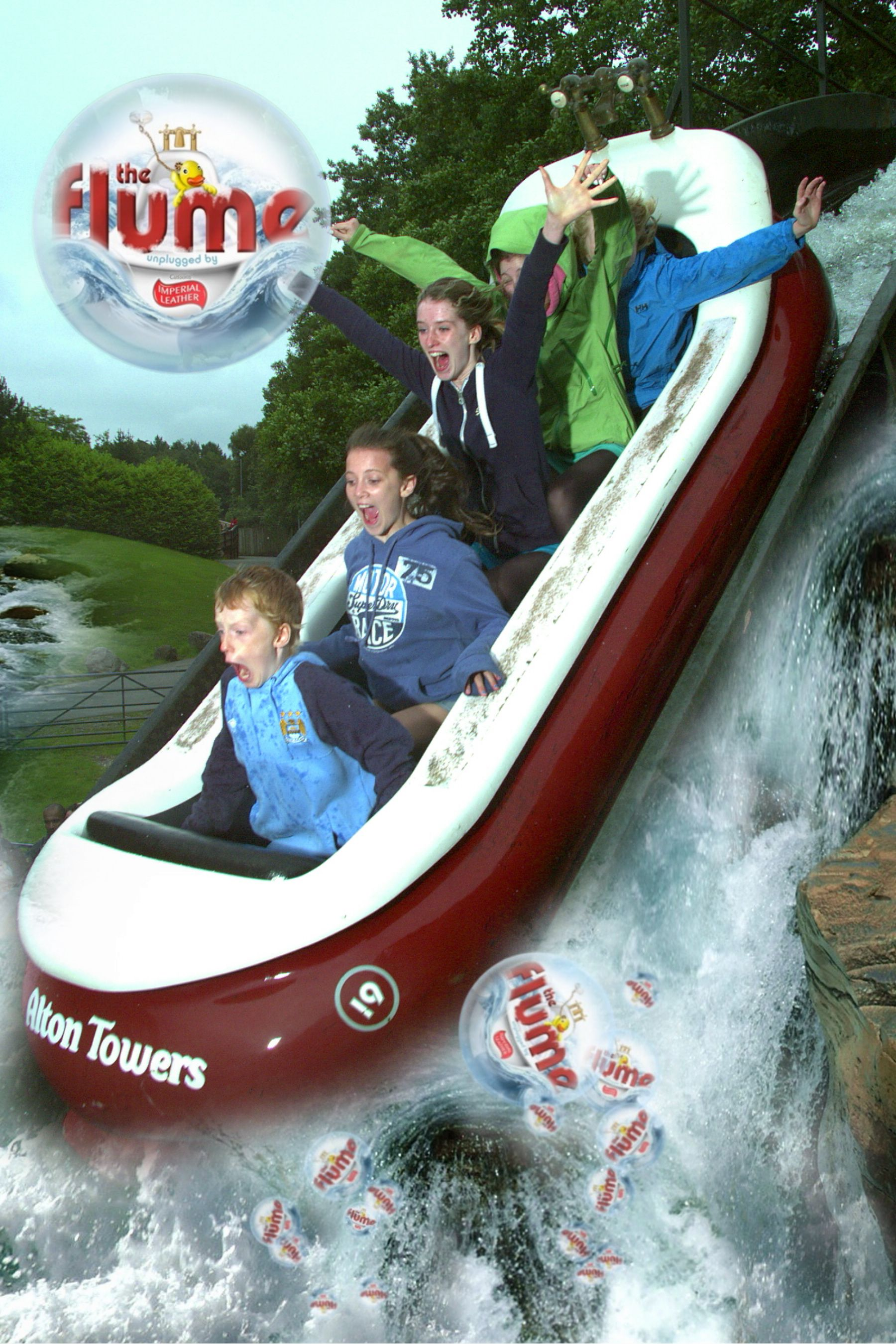 I love Alton Towers and have been on nearly all the rides