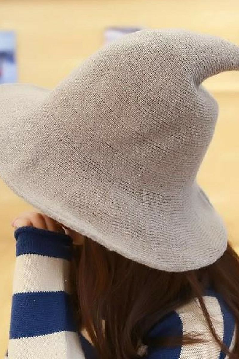 730a794f4 Modern Witch Hat Made From High Quality Sheep Wool witch hat diy ...