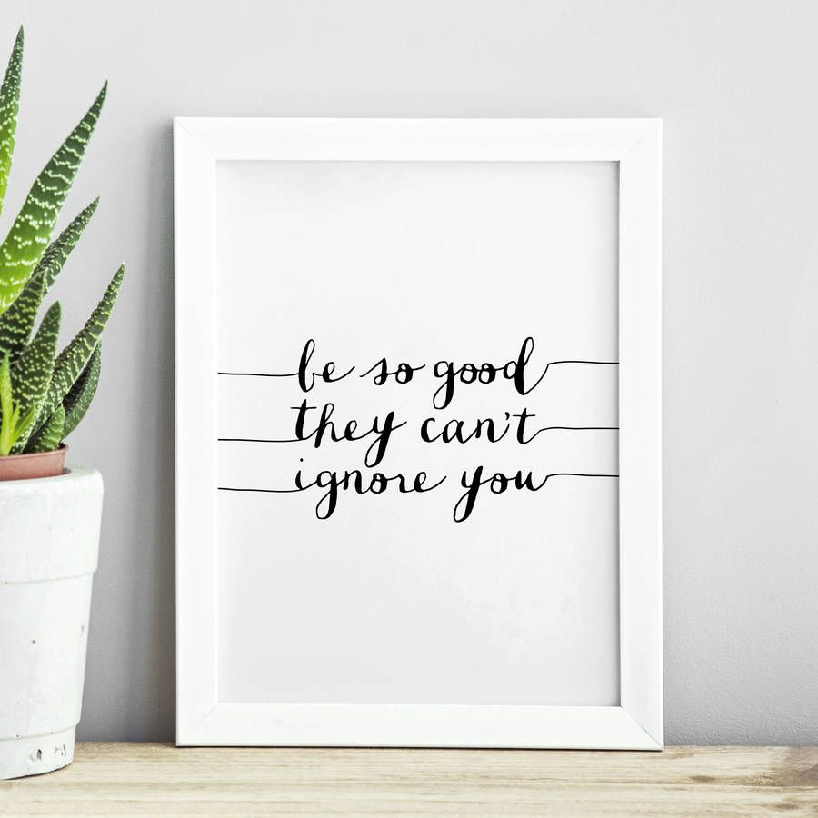 Be your own kind of beautiful http://www.notonthehighstreet.com/themotivatedtype/product/be-your-own-kind-of-beautiful-typography-print Limited edition, order now!