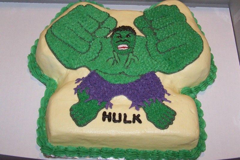 incredible hulk cake Google Search bday cake ideas Pinterest