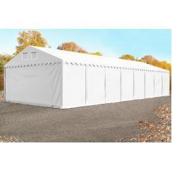 Photo of Storage tent 6x22m Pvc 550 g / m² white waterproof shelter, storage toolport