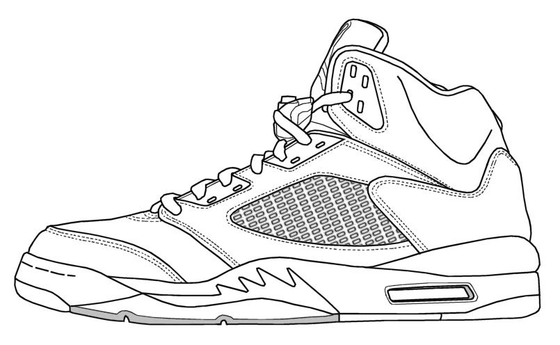 Photo By Timothy Madrid Air Jordans Jordan Shoes For Kids Shoe Template