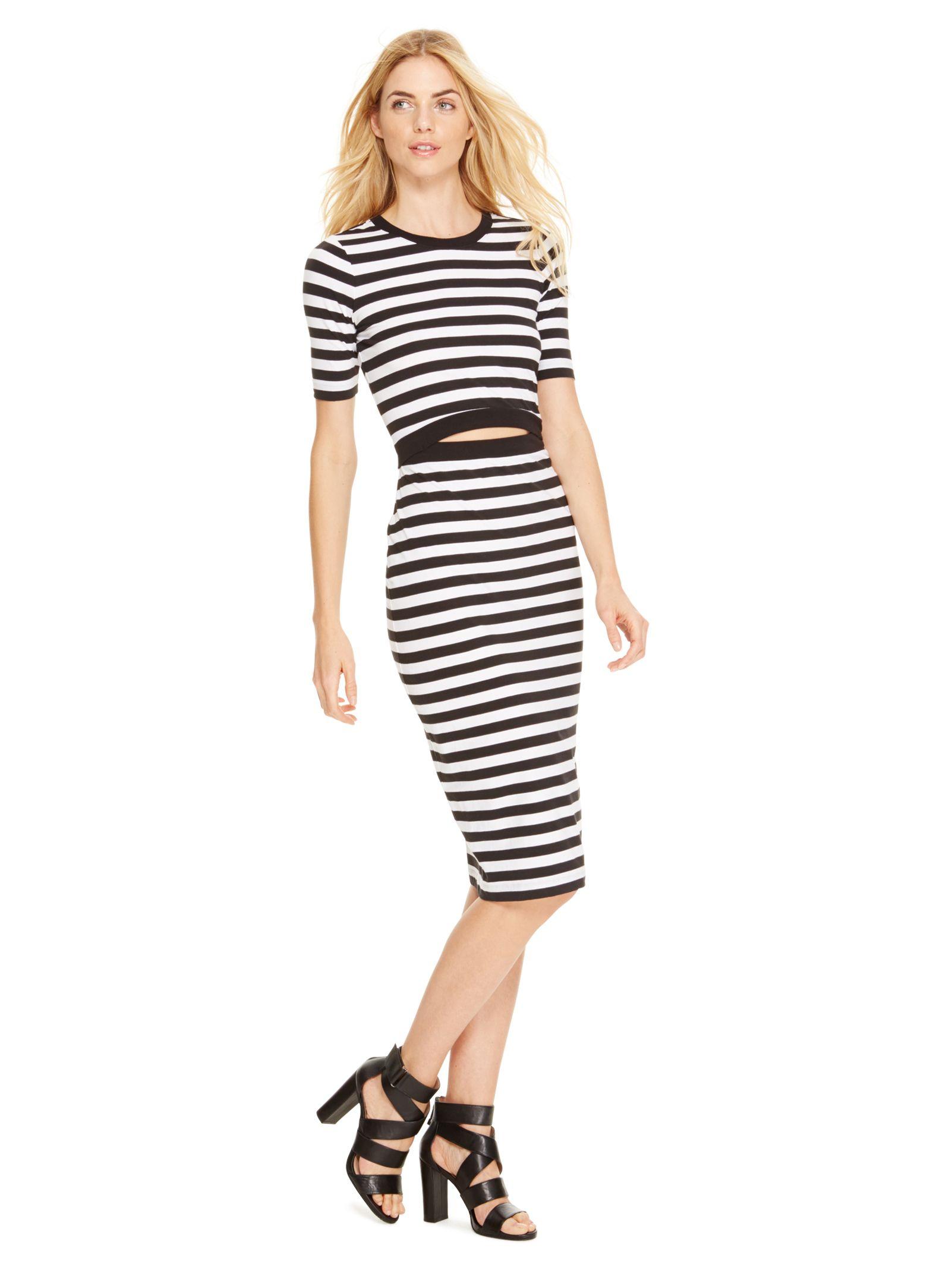 Cut Out Midi Dress 255 00