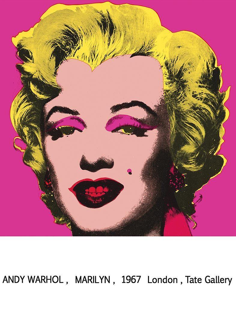 Marilyn Monroe 1967 Tate Gallery By Andy Warhol Andy Warhol Marilyn Andy Warhol Art Warhol Art