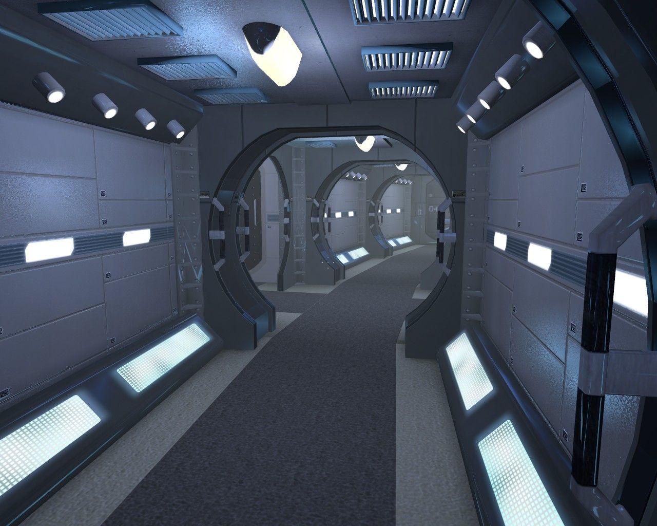 Anatomy of science fiction–The corridor | borg |Uss Enterprise Corridors