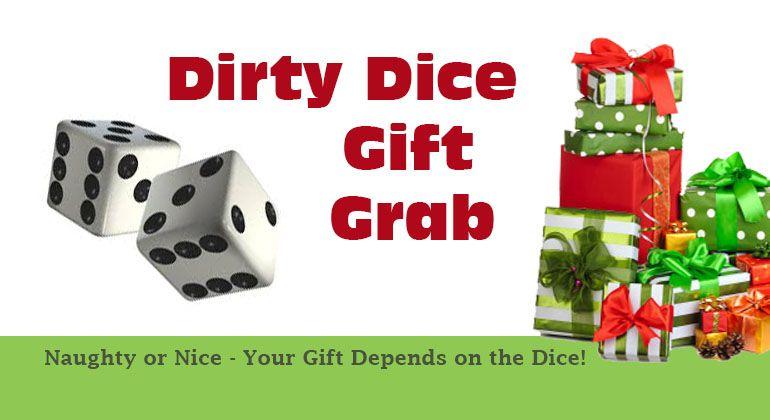 Dirty Dice Christmas Gift Grab Game | Christmas | Xmas games