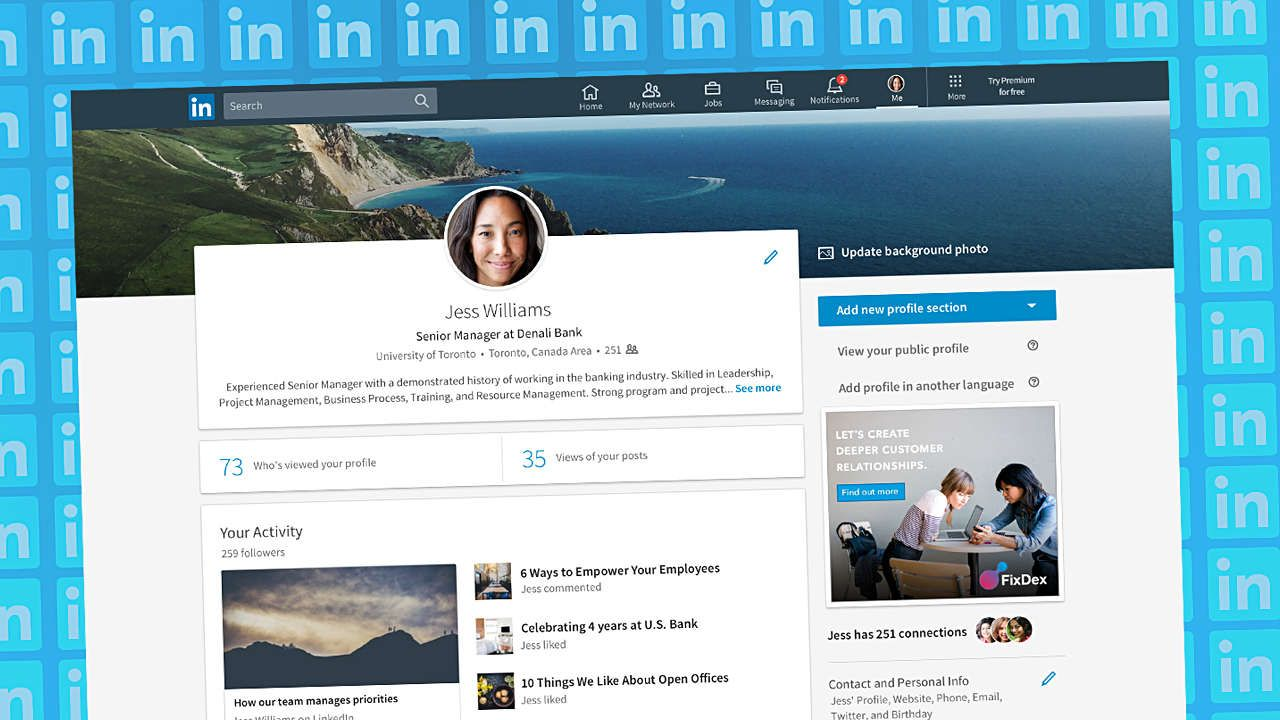 Exactly what to put in your linkedin profile to get a