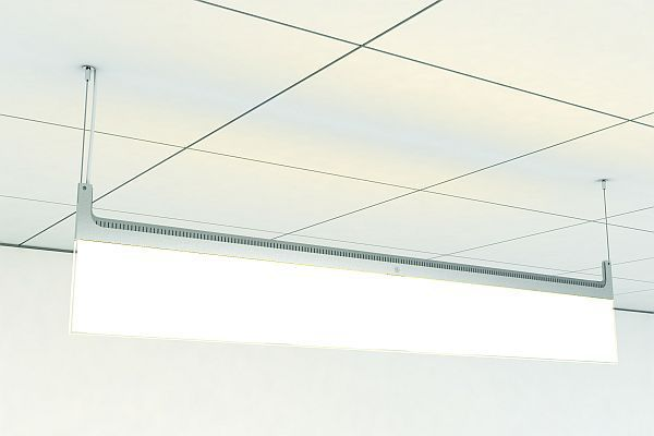 Ge S New Led Blade Series To Revolutionize Commercial Lighting Commercial Lighting Office Space Decor Led Light Fixtures