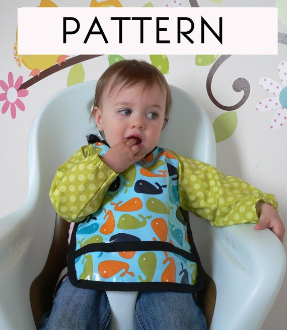 Pdf Baby Graybee Long Sleeve Bib Sewing Pattern And By