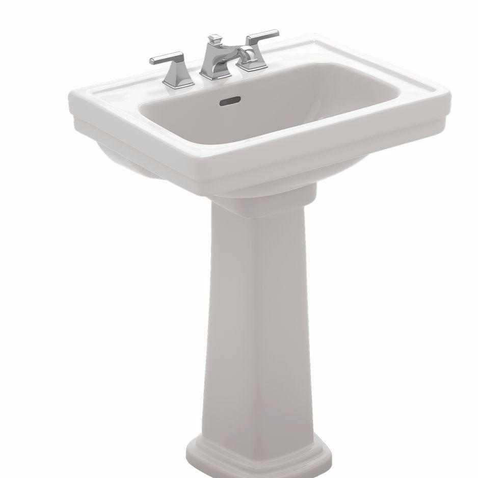 Toto Promenade Pedestal Sink, 24\