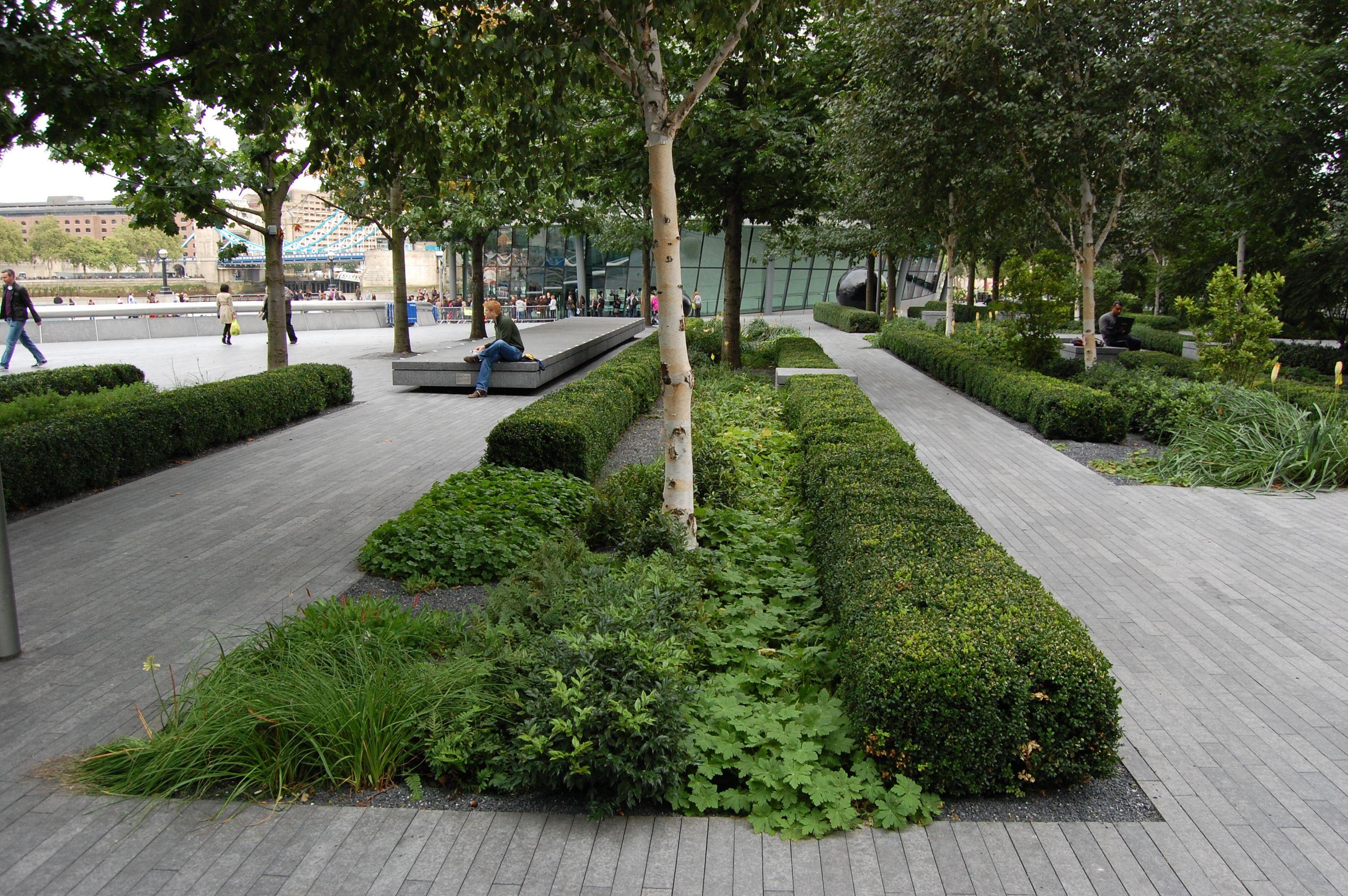 More London, London - Public Realm   Landscape design ...