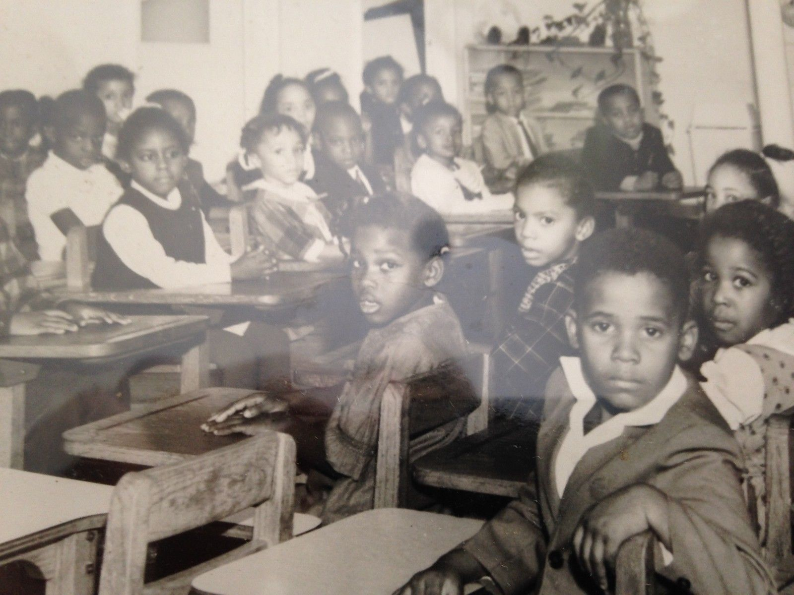 African American Kids In A Segregated Classroom