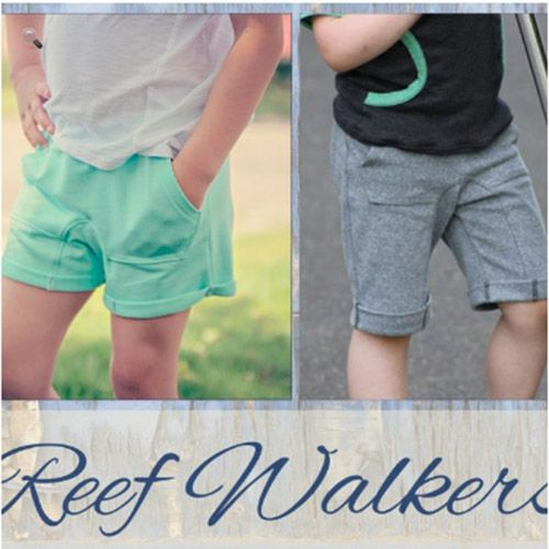 New Horizons Designs Reef Walker Shorts Sewing Pattern Perfect