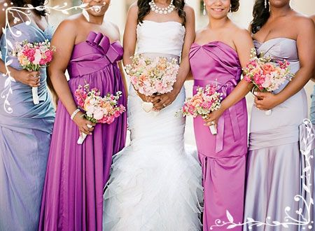 More Than One Maid Of Honor Why Not Mix Things Up With Mismatched Bridesmaids Dresses