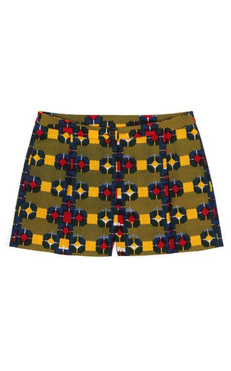 Shop Deka Shorts by Stella Jean for Preorder on Moda Operandi