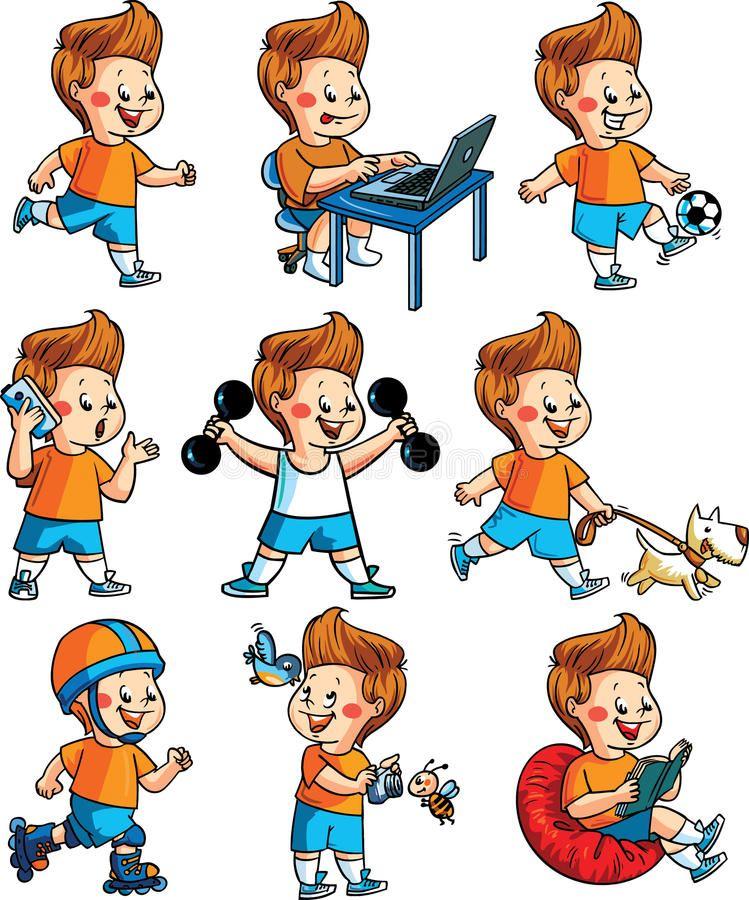 Related Image Favorite Child Childrens Vector Illustration