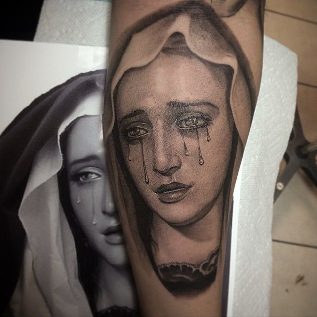 40 Spiritual Virgin Mary Tattoo Designs Meanings Tattoo