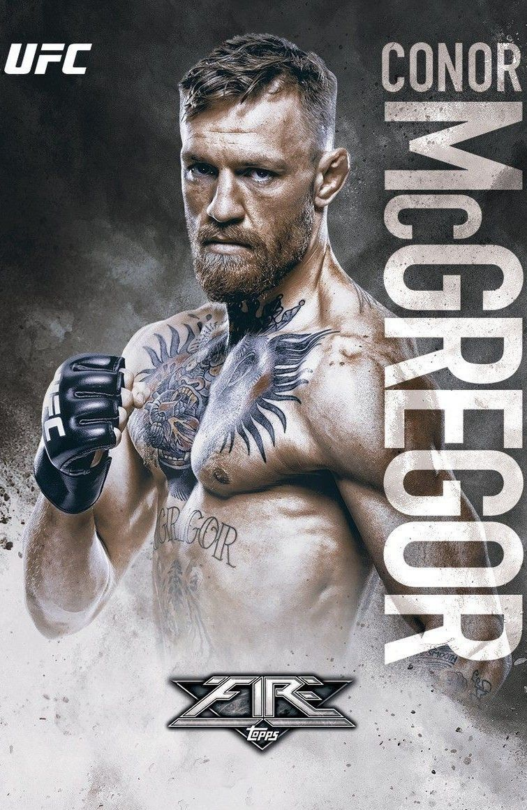 Topps Conor Mcgregor Ufc Conor Mcgregor Ufc Poster Mcgregor