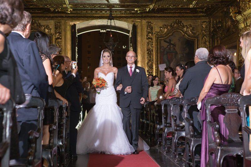 Casamento Luciana e Jair  - cerimônia religiosa