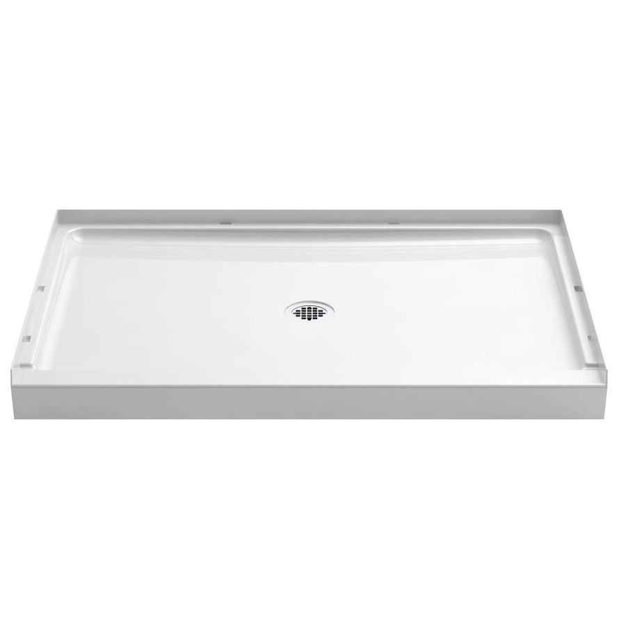 149 Lowes Sterling Guard Plus White Vikrell Shower Base