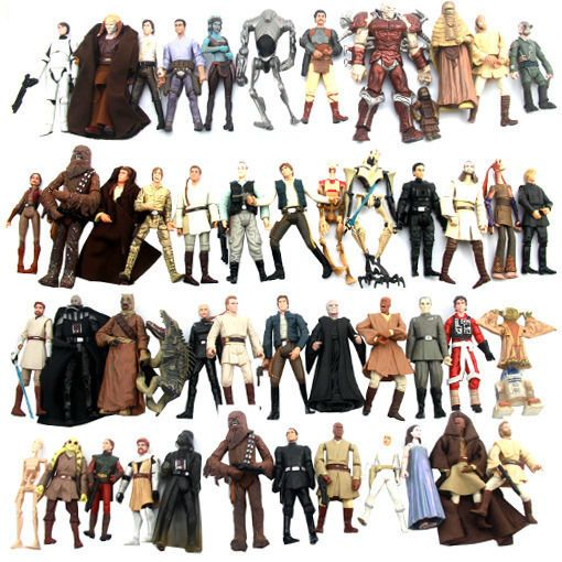 """lot of 10pcs Star wars Sticks Weapons Accessories for 3.75/"""" Action Figure"""