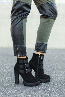 Tucino Platforma Gumy Nowosc 6553125405 Oficjalne Archiwum Allegro Boots Shoes Fashion