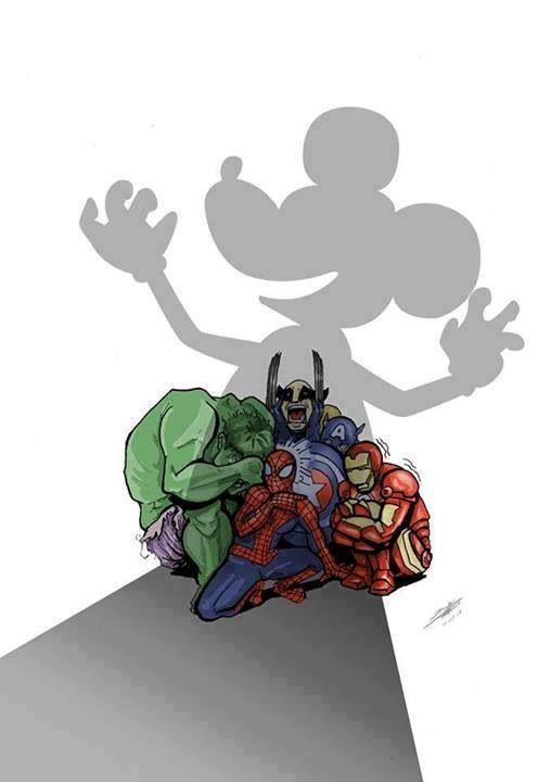 Disney comprara Marvel