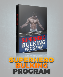 Kinobody Fitness Super Hero Bulking Program