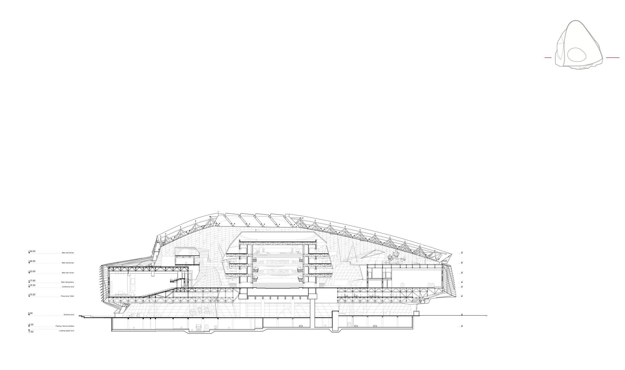 Gallery Of Dalian International Conference Center Coop