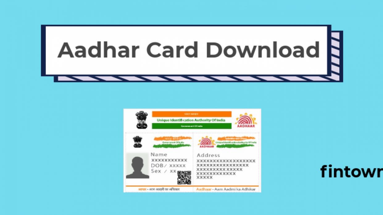 8 Top Image Unique Aadhaar Card Download Aadhar Card Card Downloads Cards