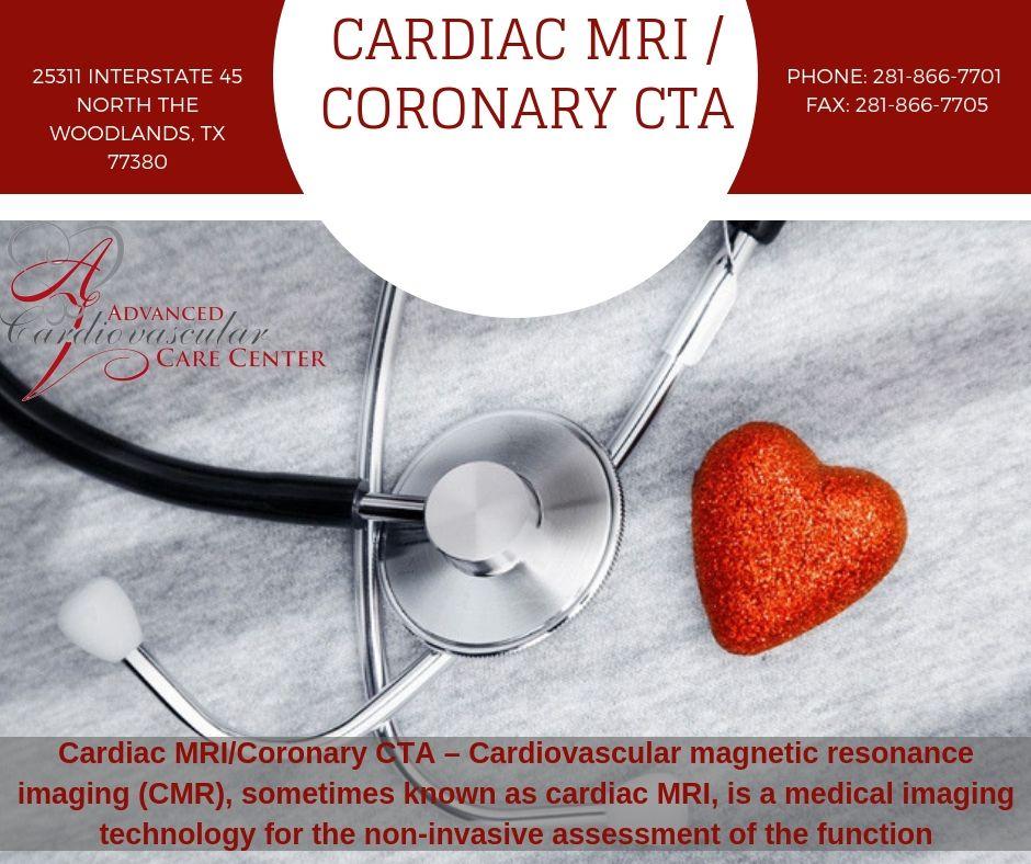 Cardiac MRI / Coronary CTA at ACCC In The Woodlands