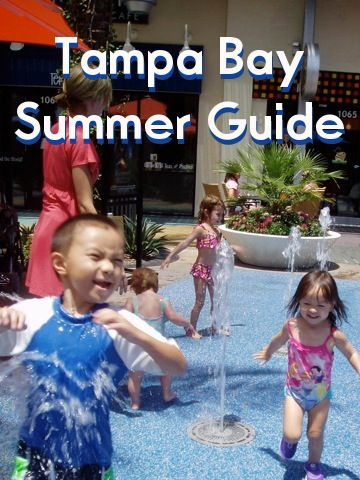 Finding the perfect summer place in the Tampa Area has never been easier - splashpads, beaches, and more!