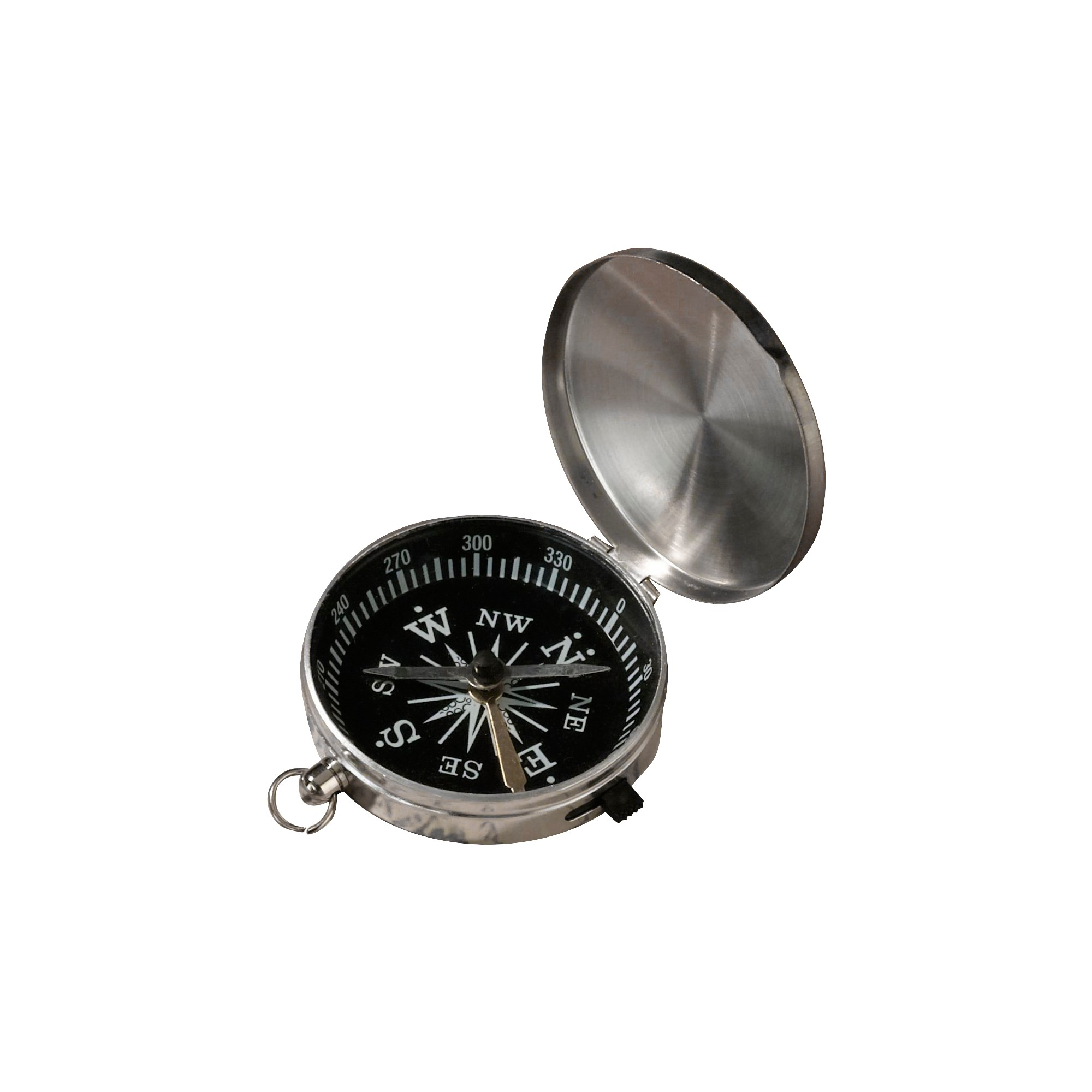 Silver Compass Party Favor, Light Silver | Compass and Products