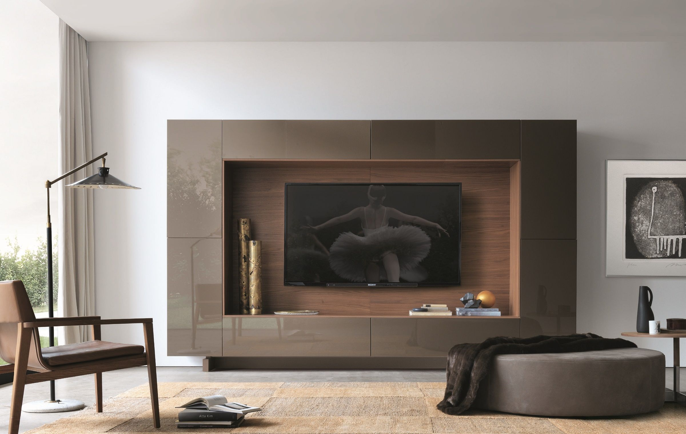 Modern Wall Unit by Jesse Italy Modern