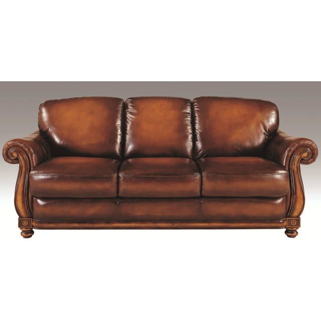 Davenport Leather Living Room Sofa Luxurious Comfort And Elegant Look Brown Leather Sofa Living Room Leather