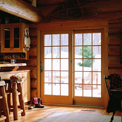 Anderson Patio Door Andersen 400 Series Frenchwood Gliding