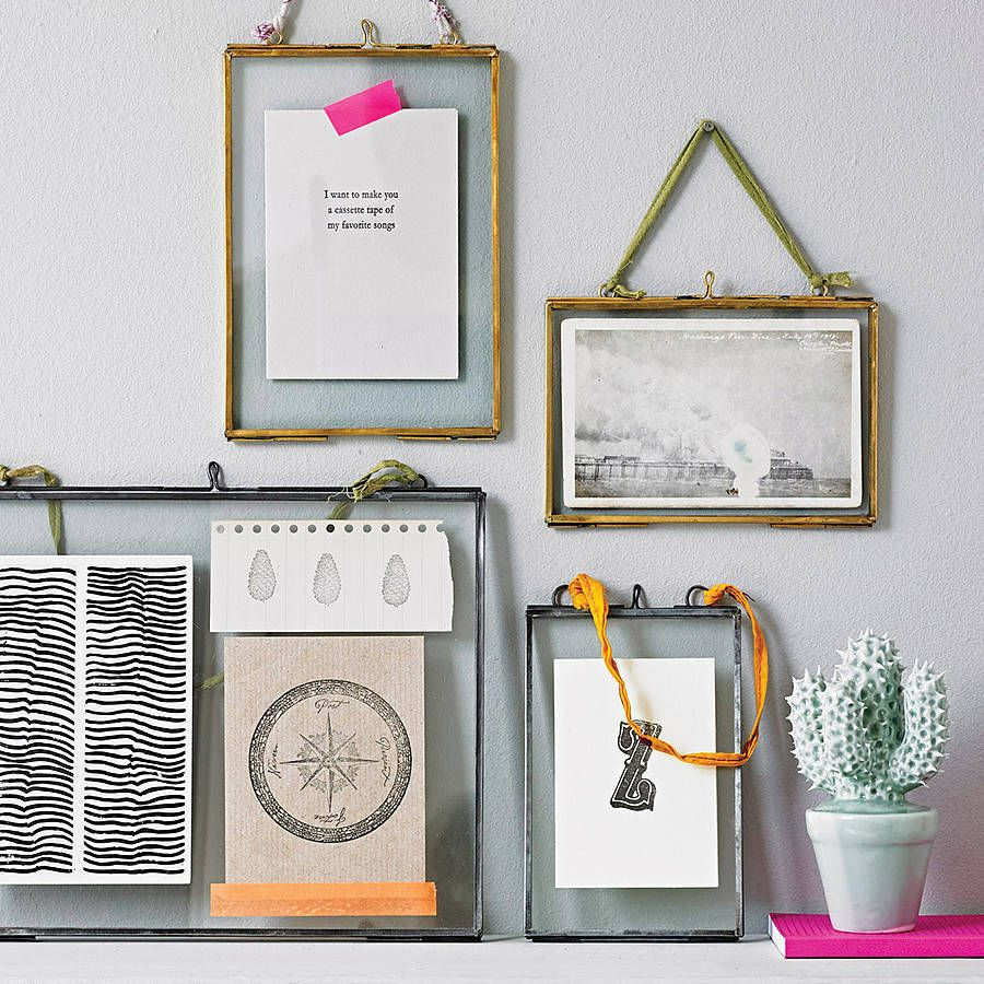 this kiko glass frame is perfect for displaying photos and mementos 1000