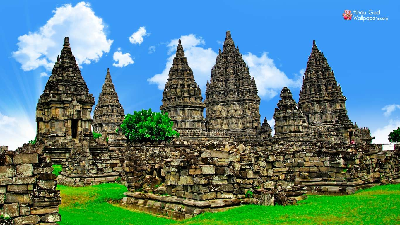 Prambanan Temple Hd Wallpaper Temples Wallpapers Temple