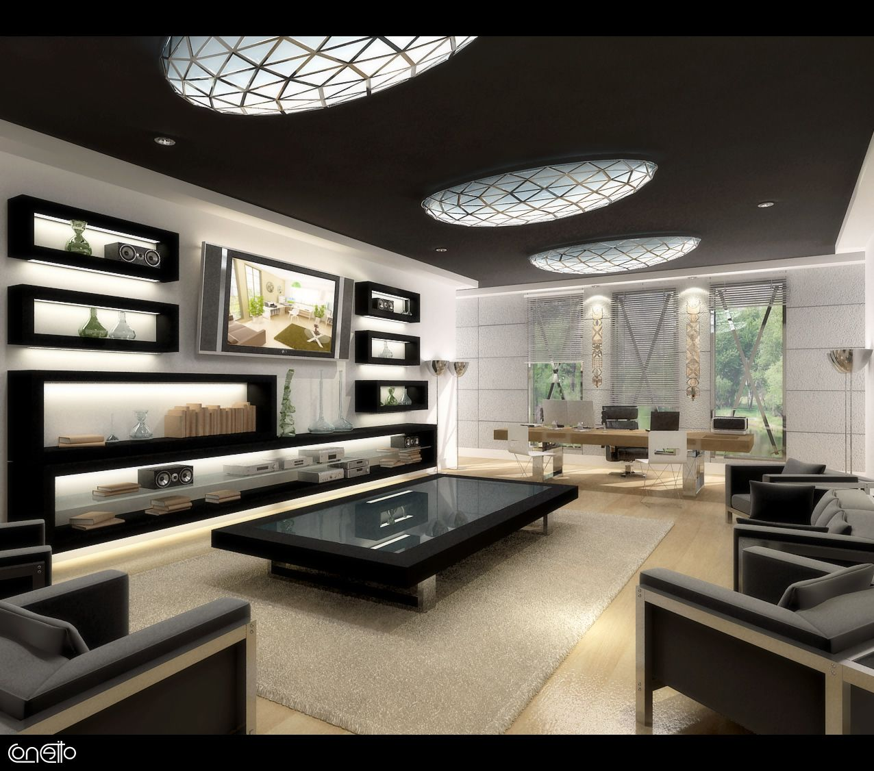 Attractive Entertainment Room Design Ideas Part - 11: Tips And Inspiration On Setting Up Home Entertainment Centers