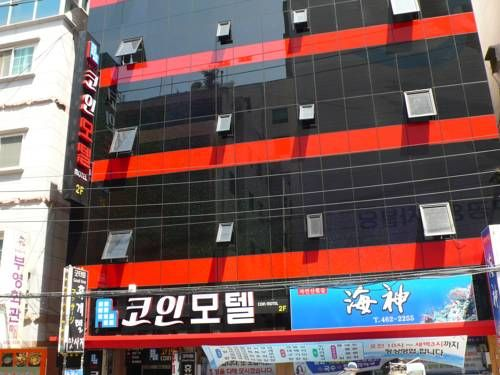 Coin Motel Busan Coin Motel is set in Busan, 200 metres from Busan China Town and 1 km from Busan International Ferry Terminal.  Rooms come with a flat-screen TV. You will find a kettle in the room. Rooms include a private bathroom.