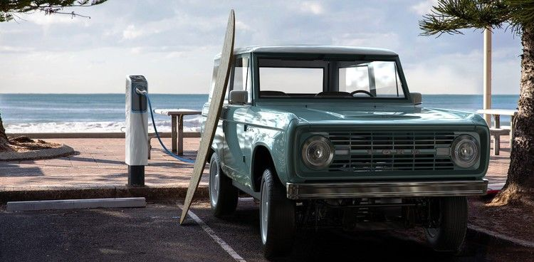 Classic Ford Bronco Goes Electric For 185 000 Electrek