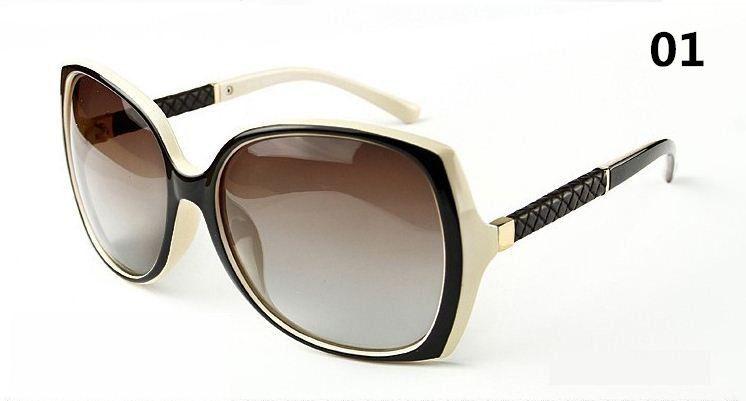 Novo 2015 popular moda óculos grandes óculos de armação óculos de sol  mulheres grife UV óculos 0bf9bda971