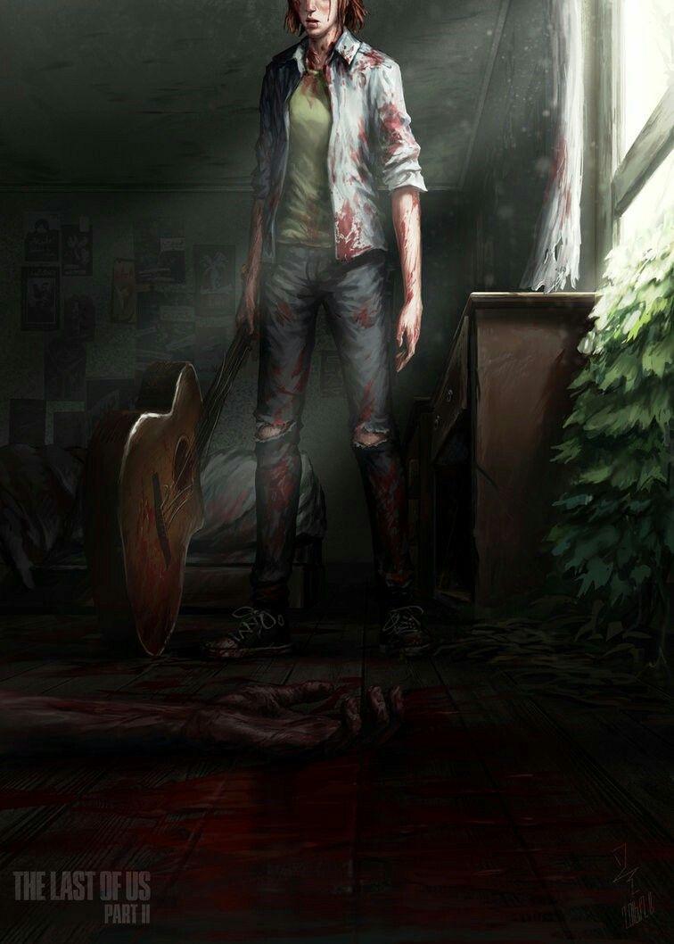 The Last Of Us 2 Ellie Fan Art Videojatekok