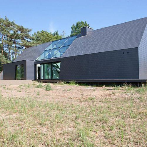 bardage ardoise de pierre naturelle textur en brique boronda eternit habitation. Black Bedroom Furniture Sets. Home Design Ideas