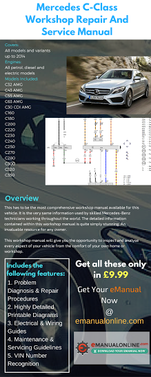 Mercedes C-Class Workshop Repair And Service Manual  This