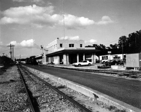Florida Memory Railroad Station Gainesville Florida Florida