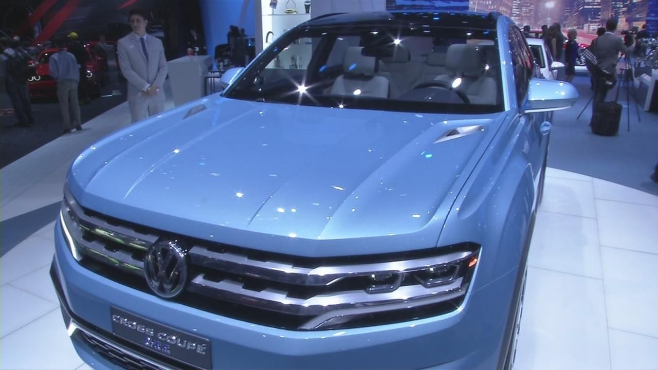 Volkswagen Concept at New York Auto Show Volkswagen