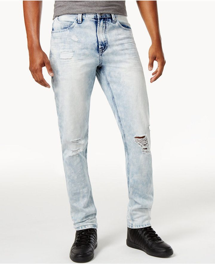 75d7df855d2 Sean John Men s Ripped Slim-Fit Jeans