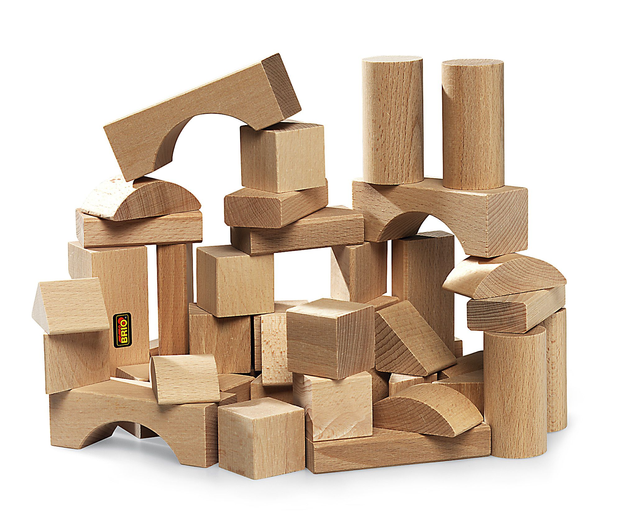 Big Wood Blocks ~ Wooden brio natural building blocks woodworking