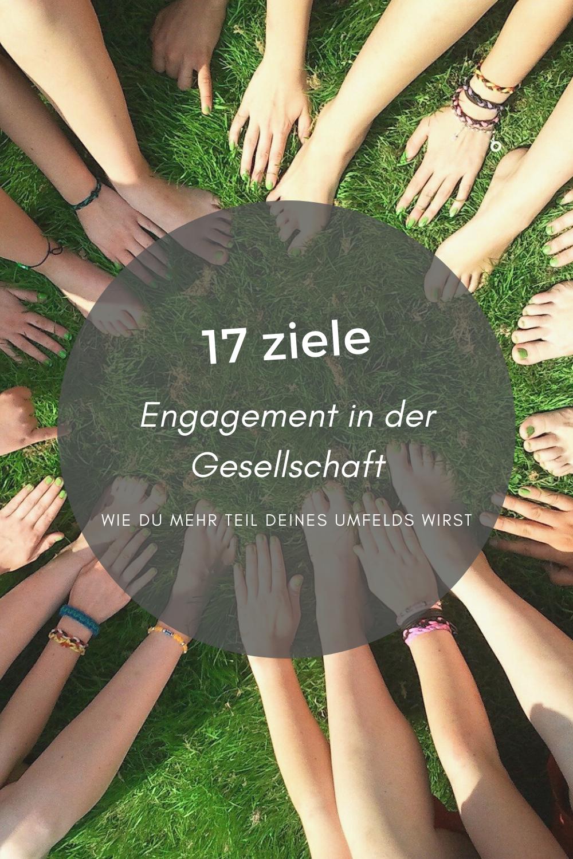 In Folge 3 unserer 17 Ziele Blogreihe zeigen wir dir, wie du Kontakt mit deinem Umfeld herstellen kannst und alle zusammen eine starke, gerechte Gesellschaft bilden, für ein harmonisches Miteinander.  #Freiraumreh #Blog #17Ziele #Zusammen